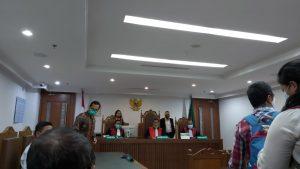 Pembacaan Homologasi PKPU Apartemen green Pramuka City