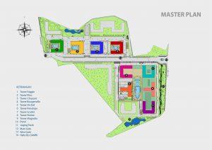 Siteplan Apartemen Green Pramuka City