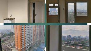 jual 2 kamar murah green pramuka city lantai rendah diatas mall